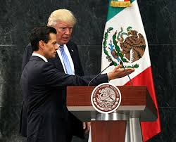 Image result for trump and mexican president