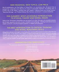 doing ethics moral reasoning and contemporary issues a moral doing ethics moral reasoning and contemporary issues a moral theory primer lewis vaughn 9780393125993 ethics amazon