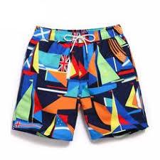 GYang <b>Mens Beach Shorts</b> Novelty Fun Lobster Summer Printed ...