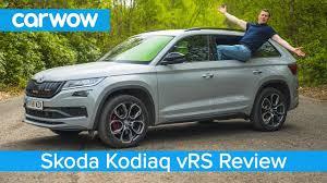 <b>Skoda Kodiaq</b> vRS SUV 2020 review - see how quick it is to 60mph ...