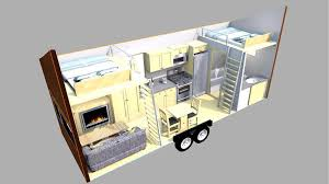 Small Picture Modern Space Saver Mobile Tiny House Plans Dream Houses