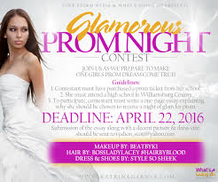 glamorous prom night contest katrina garnes glamorous prom night contest