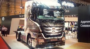 the cv show pictures from the show from the driver s seat cv show actros used