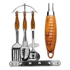 <b>Набор кухонных принадлежностей MAYER</b> & BOCH 7 пр. дер пл/р