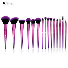 <b>DUcare Makeup Brushes 15PCS</b> Brushes for Makeup Eyeshadow ...