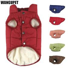Winter pet coat clothes for dogs Winter clothing <b>Warm Dog clothes for</b>