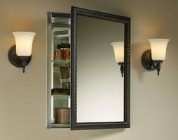 Recessed Bathroom Mirror Cabinets Furniture Things To Consider When Deciding To Buy Mirrored
