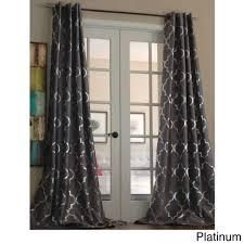 door curtain panel wooden pattern