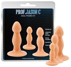 Chisa <b>Набор анальных пробок</b> Prof. Jason C Anal Probe Kit ...