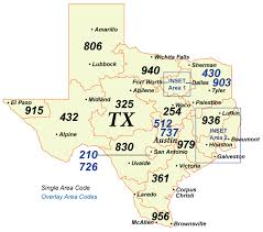 Area Codes Map