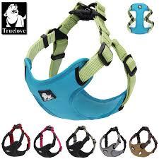 <b>Truelove</b> Padded reflective Adjustable <b>No Pulling</b> Dog Harness ...