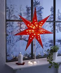 they have these in every window in sweden at christmasreminds me bedroom lighting ideas christmas lights ikea