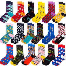 1 pair Quality Cotton Socks Men Autumn Winter <b>Women Casual</b> ...