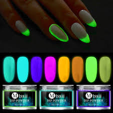<b>8 Boxes Neon Pigment</b> Nail Powder Dust Ombre Nail Glitter ...