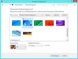 screen background image handy living: screenshot showing how to change the windows  desktop background
