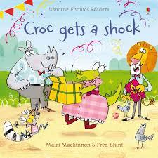 Croc Gets A Shock, Детская Книга на Английском от <b>Usborne</b>. — в ...