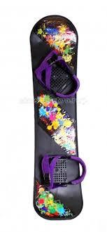 <b>Ледянка R-Toys Детский</b> сноуборд с креплениями - Акушерство.Ru