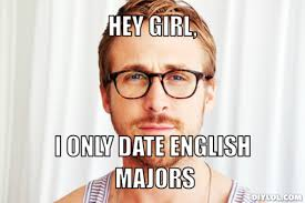 Hey Girl English Major Meme Generator - DIY LOL via Relatably.com