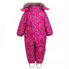 Зимний <b>комбинезон для девочки Premont</b> купить
