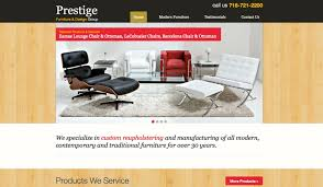 furniture website design long island web design long island web development long island designs best furniture websites design