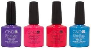 <b>CND Shellac</b> 2013 <b>Summer Splash</b> Collection UV Soak Off Gel Nail ...