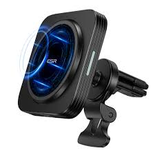 HaloLock™ <b>Magnetic Wireless Car</b> Charger Mount for iPhone 12 ...