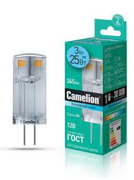 10 отзывов на <b>Лампочка Camelion</b> LED3-<b>G4</b>-JC-NF/845/<b>G4</b> ...