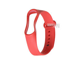 Купить <b>Ремешок Gurdini Silicone</b> для Xiaomi Mi Band 3/4 Red ...