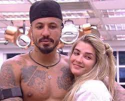 Resultado de imagem para Ex-BBBs Aline e Fernando