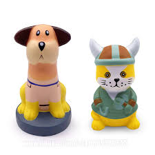 Pirate <b>Cat and</b> Dog Squishies Animals Squishy Slow Rising <b>CS</b> ...