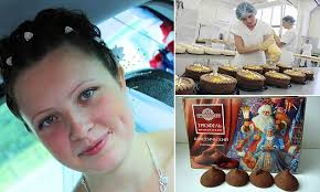 Svetlana Roslina dies after falling into vat of <b>chocolate</b> at <b>Russian</b> ...