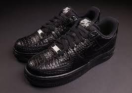 nike womens air force 1 croc pack available sneakernewscom air force crocodile white