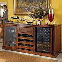 wine cellar furniture siena wine credenza walnut with free wine refrigerator box version modern wine cellar furniture