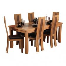 faux leather dining chair black: l unique and modern style dining room table with teak wood materials cushion leather seat covers