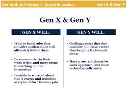 generational issues in global education gen x the millennials generational issues in global education gen x the millennials
