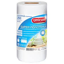 <b>Бумажные</b> полотенца <b>Unicum</b>, 20,3 х 22 см, 260 листов - купите ...