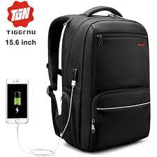"""<b>15.6</b>"""" <b>Рюкзак для ноутбука</b> Tigernu T-B3319, черный"""