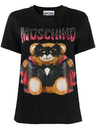 Moschino <b>Футболка</b> С Принтом <b>Bat</b> Teddy Bear -40%- Купить В ...