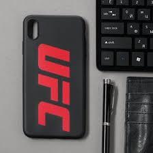 <b>Чехол клип-кейс Red</b> Line UFC для iPhone XS Max, черный ...