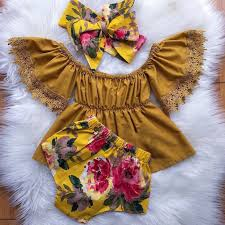<b>Pudcoco</b> Brand <b>Newborn Baby Girl Toddler Infant</b> Outfits 3Pcs ...