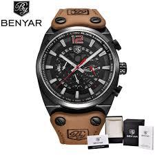 <b>BENYAR</b> Wristwatches <b>design</b> Chronograph Sport Mens Watches ...
