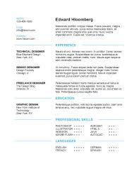 a resume template  powerful formats  europass cv template discreetly modern