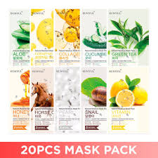 (<b>20 Pcs</b>/<b>Set</b>) EUNYUL Natural Moisture Mask Pack RM22.00 8k <b>sold</b>