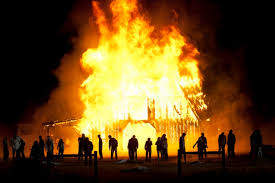 Image result for burning down the house