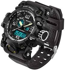 Men's Watches Military Sports Electronic LED ... - Amazon.com