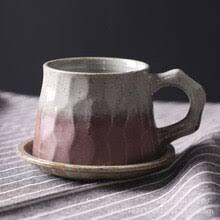 <b>Японская</b> Ретро Керамическая кофейная <b>чашка</b> и блюдце набор ...