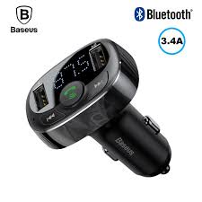 <b>FM трансмиттер</b> модулятор <b>Baseus</b> S-09 <b>T</b>-<b>Typed</b> Bluetooth c ...