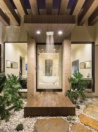 open shower concept floor