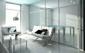 architecture glass curtain walls sofa arc floor lamp wonderful excerpt modern office design architectural designer office design software free