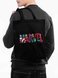 Холщовая <b>сумка Marvel Avengers</b>, черная — купить в интернет ...